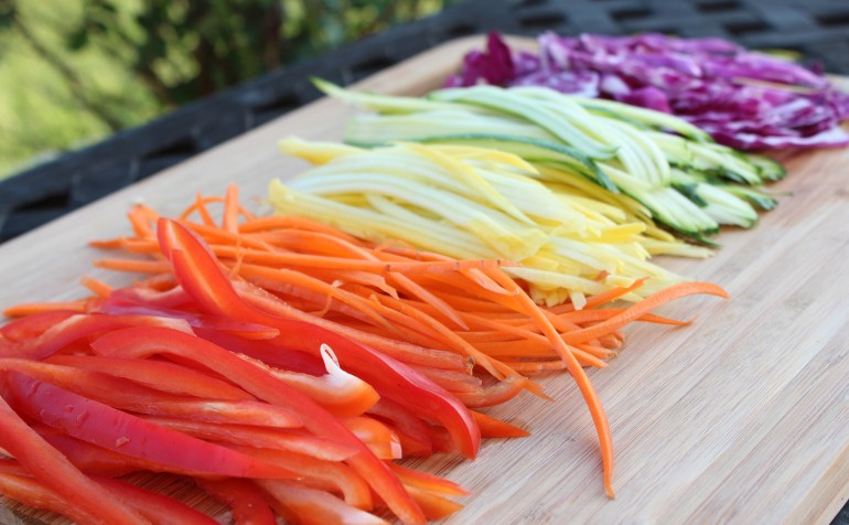 how to cook julienne vegetables