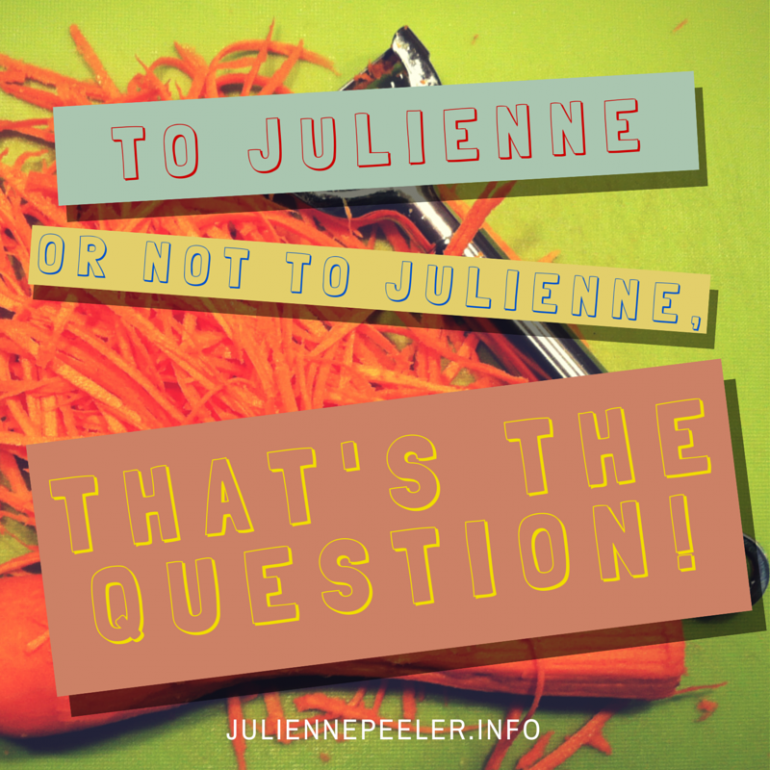 julienne peeler quote