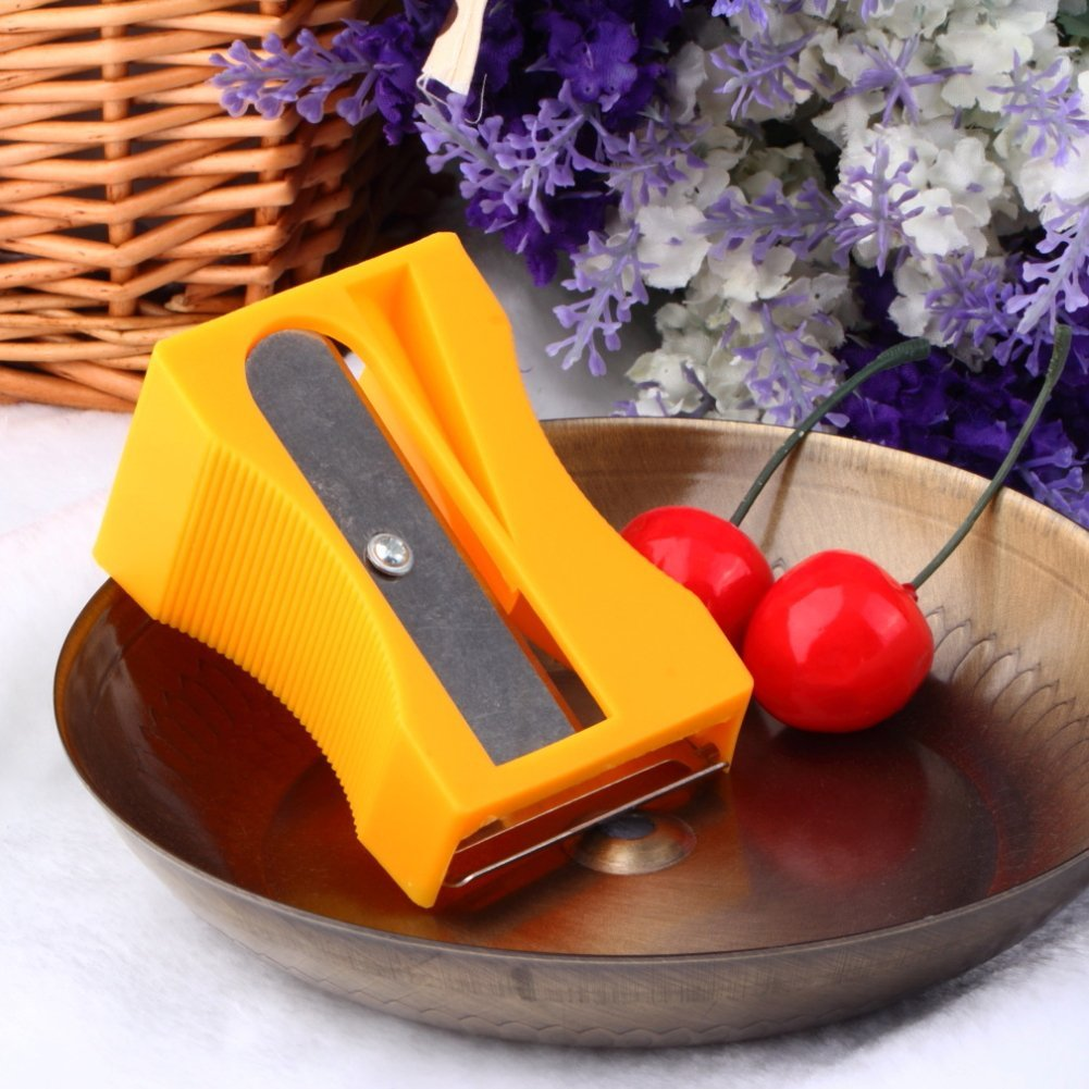 Generic Carrot Cucumber Sharpener Peeler Kitchen Gadget Tool Vegetable Fruit Curl Slicer